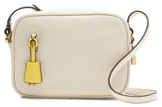 J.crew 'Signet' Leather Crossbody Bag - Beige $128 thestylecure.com