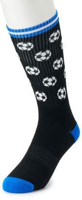 HS by Happy Socks Men's Patterned Athletic Crew Socks