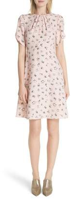Kate Spade Flora Tulip Sleeve Dress