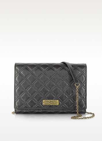 Marc Jacobs All in One Black Quilted Leather Shoulder Bag