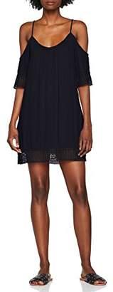 Only Women's Onlmarika Coldshoulder S/s WVN Dress,8 (Manufacturer Size: 34)