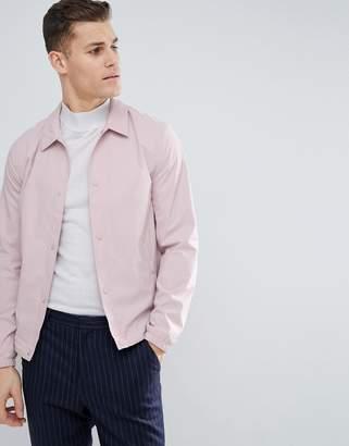 Reiss Coach Jacket In Pink