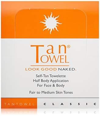 TanTowel Tan Towel Self Tan Towelette 50 Count