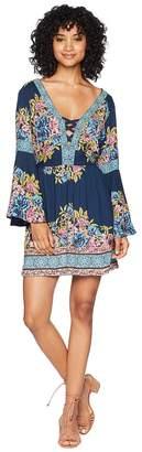 Angie Bell Sleeve Tunic Dress Women's Dress