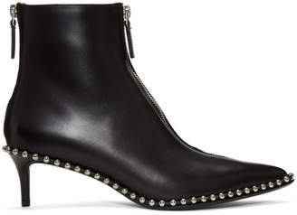 Alexander Wang Black Eri Low Boots