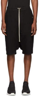 Rick Owens Black Pods Shorts