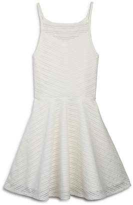 Sally Miller Girls' Textured Lace Dress - Big Kid