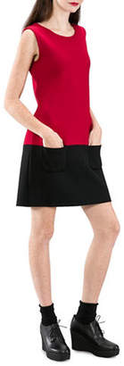 agnès b. Napolitain Wool Shift Dress