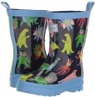 Hatley Mega Monsters Rain Boots Boys Shoes
