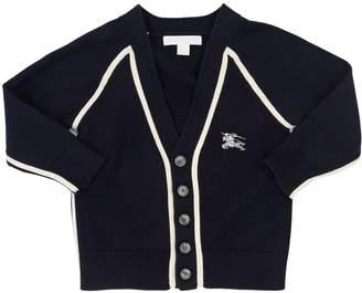 Burberry Cotton Knit Cardigan