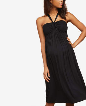 Jessica Simpson Maternity Halter Dress
