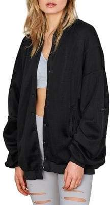 Alo Yoga Mesh Oversized-Fit Field Jacket
