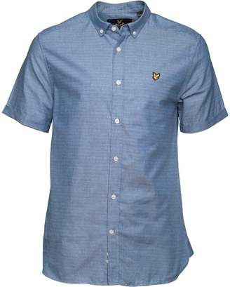 b9975476af9 Lyle   Scott Vintage Mens Multi Coloured Running Stitch Shirt True Blue