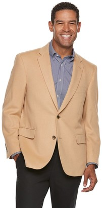 Jean Paul Gaultier Germain Men's Jean-Paul Germain Camel-Hair Classic-Fit Sport Coat