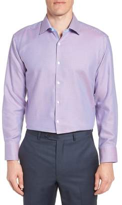 Tailorbyrd Axton Trim Fit Geometric Dress Shirt