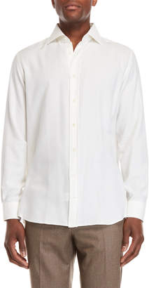 Luciano Barbera White Sport Shirt