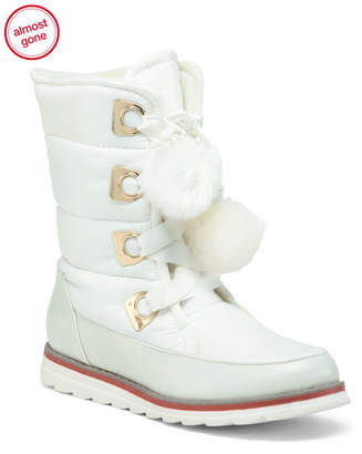 Arctic Plunge Lace Up Snow Boots