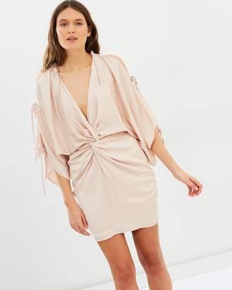Shona Joy Calypso Twist Kimono Mini Dress