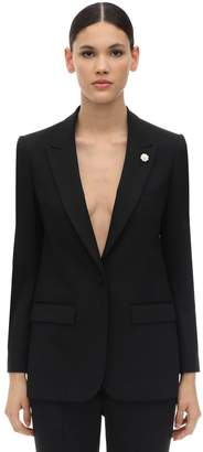 Lardini Virgin Wool Blend Blazer