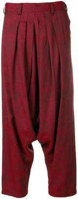 Yohji Yamamoto PRE-OWNED Y'S drop crotch trousers