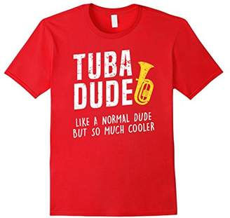 Funny Tuba Dude Like Normal But Cooler Gift T Shirt
