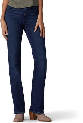 Lee Petite Flex Motion Regular Fit Bootcut Jeans