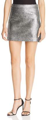 Milly Modern Metallic Mini Skirt