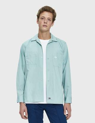 Dickies Construct Long Sleeve Work Shirt in Sage