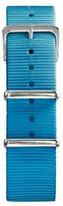Oxygen Unisex Blue Nylon Buckle Pin of 20cm
