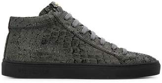 Hide&Jack cracked effect sneakers