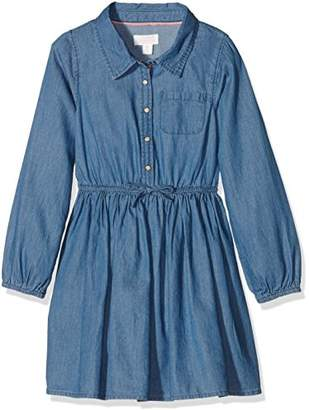Pumpkin Patch Girl's Denim Shirt Dress,(Manufacturer Size:2)