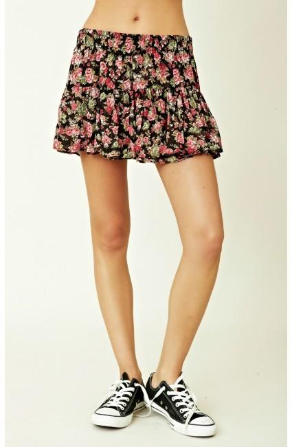 Blu Moon Mini Skirt