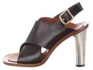 Celine Crossover Slingback Sandals