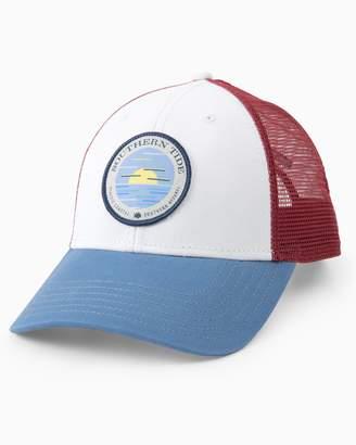 Southern Tide Circle Horizon Patch Trucker Hat