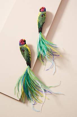Mignonne Gavigan Tail Feathers Drop Earrings