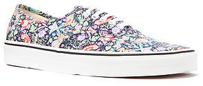 Vans Footwear The Authentic Sneaker in Libery Bird and Navy Print