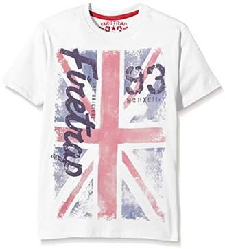 Firetrap Boy's Union Jack T-Shirt,2-3 Years
