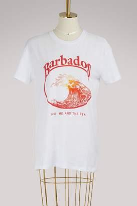 "Zoe Karssen Barbados"" boyfriend-cut T-shirt"