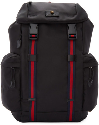 Gucci Black Medium Technical Backpack