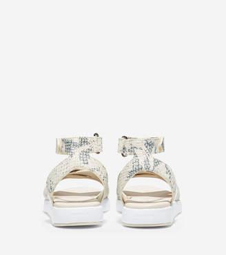 9f86def14675 Cole Haan Snake Print Women s Sandals - ShopStyle