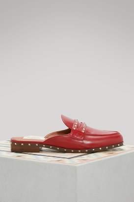 Valentino Rockstuds flat slippers