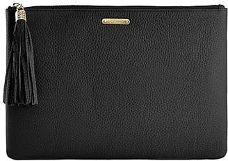 GiGi New York Uber Pebbled Leather Clutch