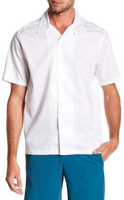Perry Ellis Solid Short Sleeve Shirt