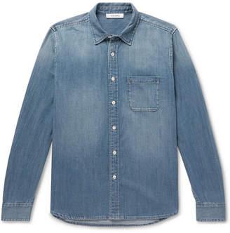 Frame Cotton-Blend Chambray Shirt