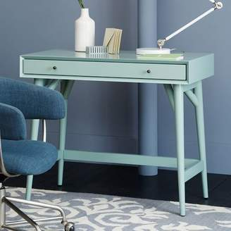 west elm Mid-Century Mini Desk - Oregano