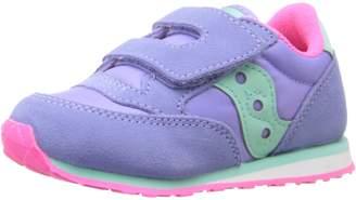 Saucony Kids Baby Jazz HL Running Shoes, Magenta/Blue