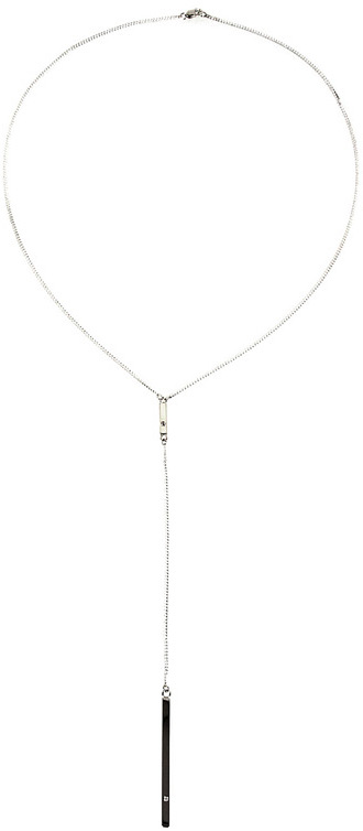 Jennifer Zeuner Jewelry Chelsea Double Bar Lariat