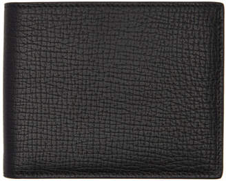 Jil Sander Black Leather Bifold Wallet