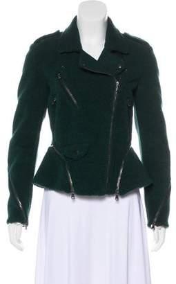 3.1 Phillip Lim Moto Fleece Jacket