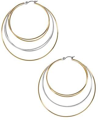 BaubleBar Rielle Layered Hoop Earrings
